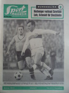 SPORT-MAGAZIN-KICKER-43-A-28-10-1963-VfB-Dortmund-2-1-England-Weltauswahl-2-1