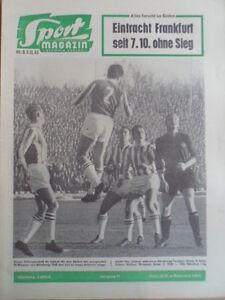 SPORT-MAGAZIN-KICKER-49-A-3-12-1962-Strehl-Nuernberg-1860-1-0-Rolf-Geiger