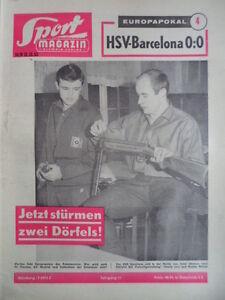 SPORT-MAGAZIN-KICKER-50-B-12-12-1963-HSV-Barcelona-0-0-Charly-Bernd-Doerfel