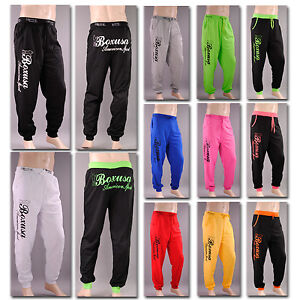 SPORTHOSE-Damen-Herren-Jogginghose-Fitness-Body-Trainingshose-Hose-Tanzen-box