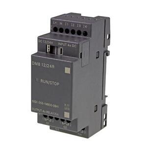 SPS-Erweiterungsmodul-Siemens-LOGO-DM8-12-24R-6ED1055-1MB00-0BA1-12-24-V-DC