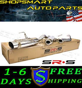 2003 Acura  Type on Srs Type R1 Catback Exhaust System Muffler Acura Rsx Non Type S 2002