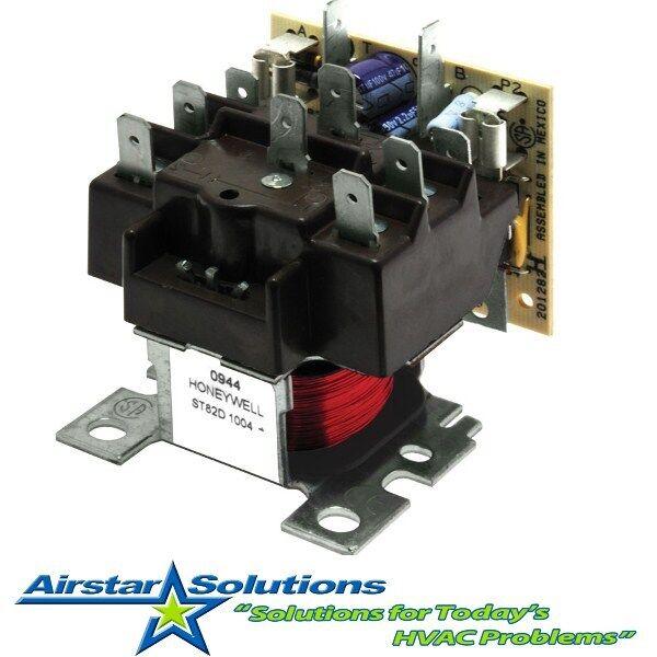 trane xl 1200 heat pump fan stays on