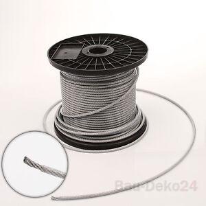 Stahlseil 3 mm ummantelt