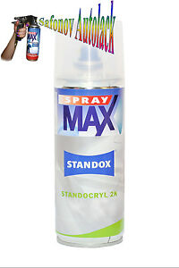 standox 2k super matt klarlack spray max 400 ml benzinfes. Black Bedroom Furniture Sets. Home Design Ideas