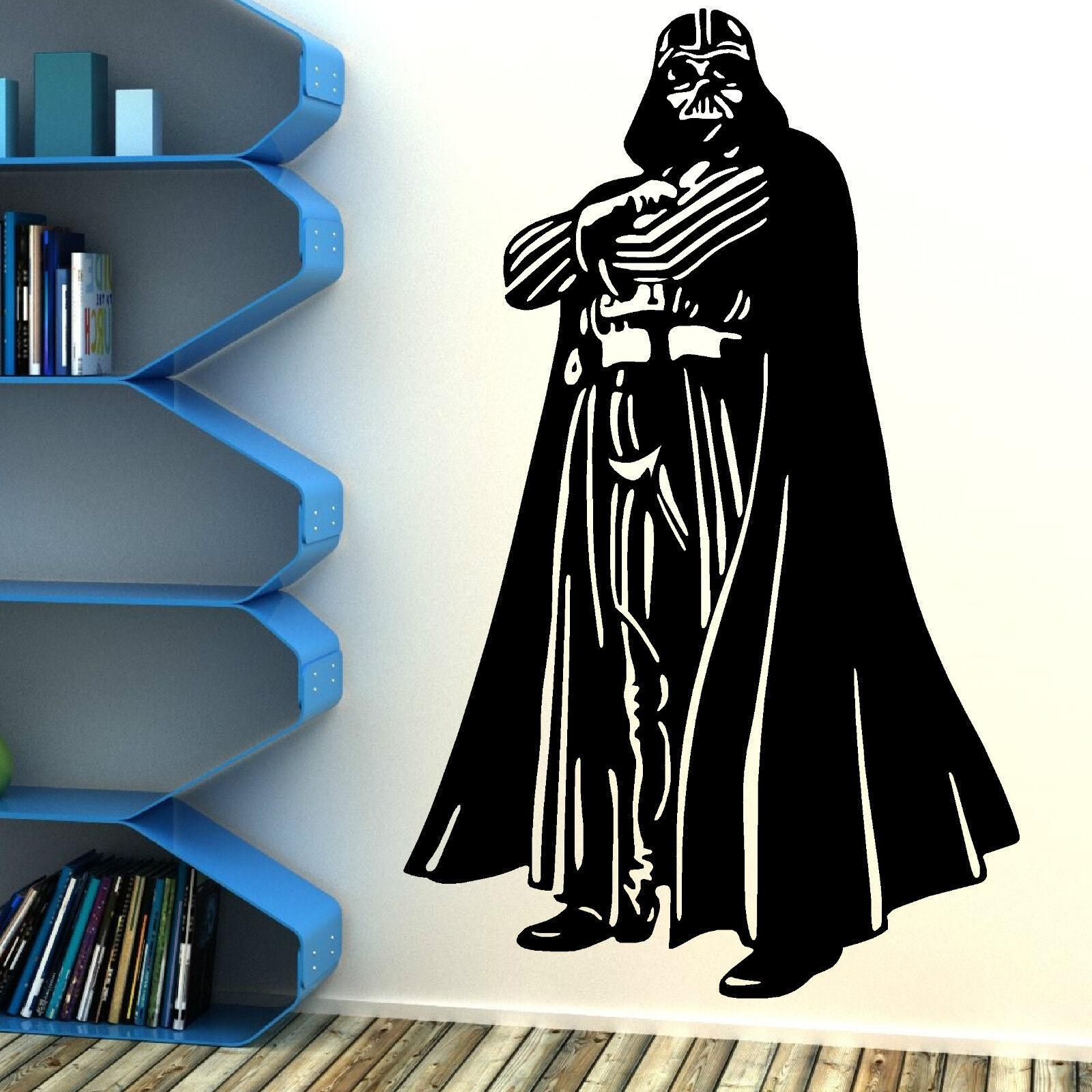 Star Wars Darth Vader Vinyl Wall Art Sticker Room Bedroom Movie Decal Ebay