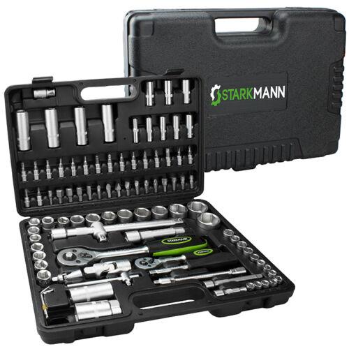 Ebay. Набор инструментов и принадлежностей  Starkmann  (225 предметов) в алюминиевом кейсе за 69,99 Евро