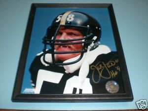 STEELERS JACK LAMBERT FRAMED COLOR SIGNED PRINT in Sports Mem, Cards & Fan Shop, Autographs-Reprints | eBay