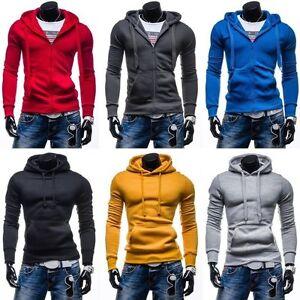 STEGOL-Herren-Kapuzenpullover-Sweatjacke-Hoodie-Pullover-Sweatshirt-1A1-Kapuze