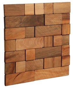 stegu echtholzverblender wood cube2 holz wandverkleidung wand dekor verblender ebay. Black Bedroom Furniture Sets. Home Design Ideas
