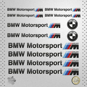 sticker bmw motorsport serie m pegatina decal autocollant. Black Bedroom Furniture Sets. Home Design Ideas