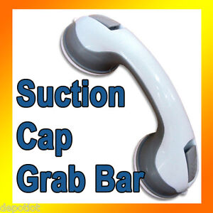 Grab Bars  Bathroom on Bathroom Grab Bars On Suction Cap Bathtub Shower Safety Grab Bar 12