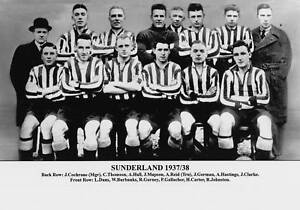 SUNDERLAND-FOOTBALL-TEAM-PHOTO-1937-38-SEASON