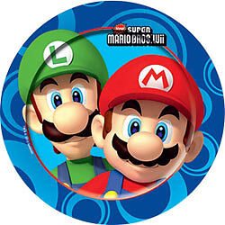 Super Mario Bros Wii Partyware All Under One Listing