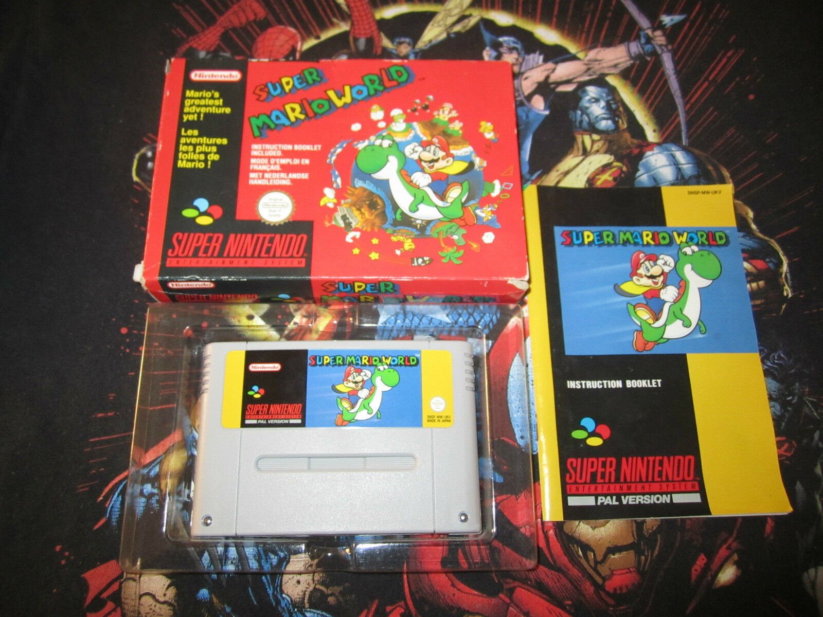 SNES Classic Club Super Mario World Complete goals to earn stamps Oct 1st