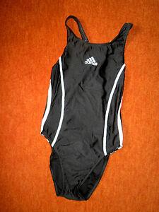 SUPER-Schwimmanzug-v-ADIDAS-Gr-38-schwarz-weiss-sehr-attraktiv-neuwertig
