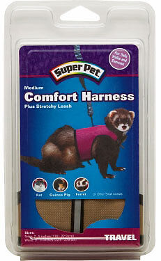 SUPERPET COMFORT HARNESS & LEASH MEDIUM SUPER PET RABBIT FERRET GPIG FREE SHIP in Pet Supplies, Small Animal Supplies | eBay