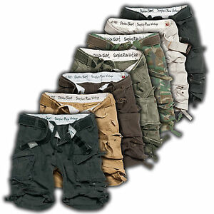 SURPLUS-DIVISION-CARGO-SHORT-7FARBEN-XS-7XL-U-S-Army-Bermuda-Rider-Shorts-Walk