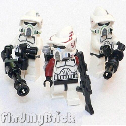 SW147 III x3 Lego Star Wars ARF & Elite Clone Trooper Minifigures 7914 9488 NEW