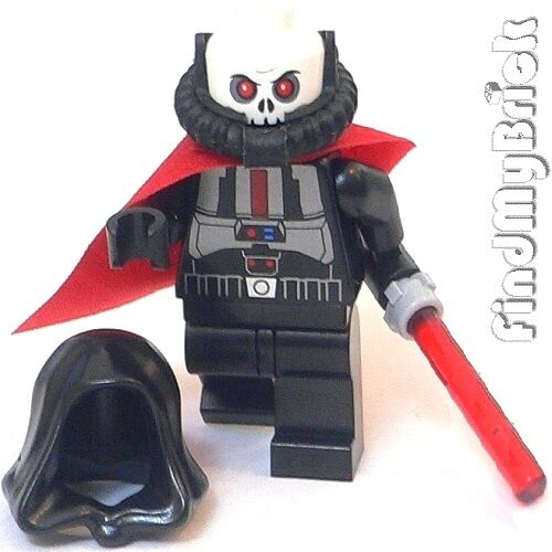 SW262 Lego Star Wars Sith Lord Sith Warrior Custom ...