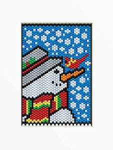 Snowman Bead Patterns by Thread A Bead - ReallyFirst.com - The