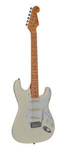SX-ST-E-Gitarre-SST-57-VWH-in-vintage-weiss-mit-Ahron-Griffbrett-AUSVERKAUF