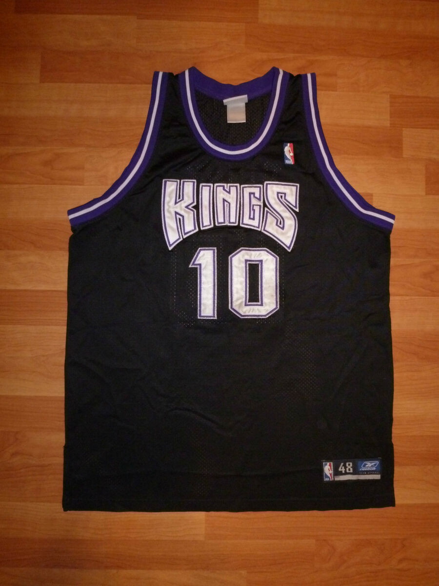 Sacramento Kings Mike Bibby Authentic Jersey Reebok 48 XL Black