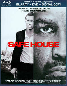 Safe House (Blu-ray Disc, 2012, 2-Disc S...