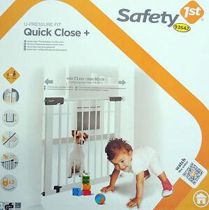 safety 1st quick close t rschutzgitter safety 1st quick. Black Bedroom Furniture Sets. Home Design Ideas