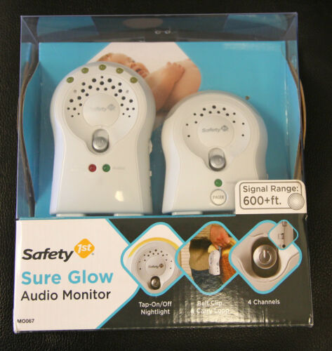 Safety 1st Sure Glow Baby Audio Monitor - Up to 600 ft. Range - Model M0067 in Baby, Baby Safety & Health, Baby Monitors | eBay