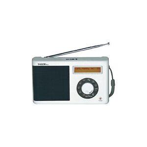 Sailor-SA-123-Portable-FM-Radio-mit-Digital-Radio-DAB-in-Weiss-Netz-Batterie