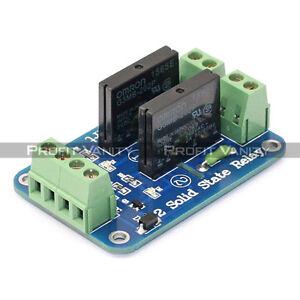 sainsmart 2 kanal 5v solid state relais modul board omron. Black Bedroom Furniture Sets. Home Design Ideas