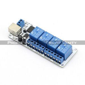 SainSmart-5V-4-Channel-kanal-USB-Relais-Relay-Modul-Board-4-Arduino-PIC-DSP-AVR