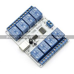SainSmart-8-kanal-12V-USB-Relais-Relay-Board-Modul-Controller-For-Arduino-DE