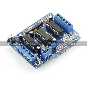 SainSmart-L293D-Motor-Drive-Shield-4-AVR-ATMEL-Arduino-Duemilanove-Mega-UNO-R3