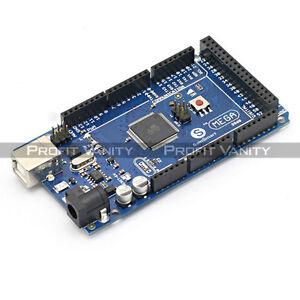 SainSmart-Mega2560-ATmega2560-16AU-Entwicklungsbrett-USB-Kabel-For-Arduino