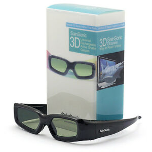 SainSonic-IR-3D-Aktiv-Shutter-Brille-Universal-fuer-Panasonic-Toshiba-Sony-Sharp