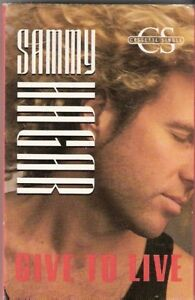 Sammy-Hagar-Give-to-Live-USA-MC-Cassingle-tape