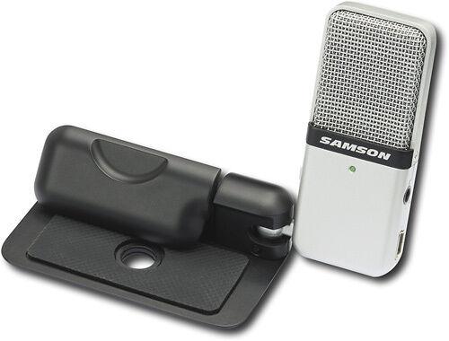 Samson - Go Mic Portable USB Condenser Microphone Bundle w/ Case & Software in Musical Instruments & Gear, Pro Audio Equipment, Microphones | eBay