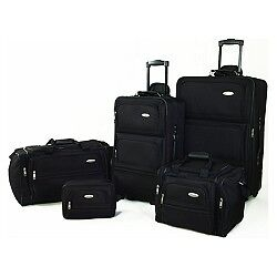 Samsonite 5 Piece Samsonite Nested Travel Luggage Set (Black) in Travel, Luggage | eBay