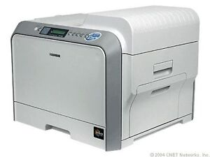 Samsung CLP-500 Workgroup Laser Printer