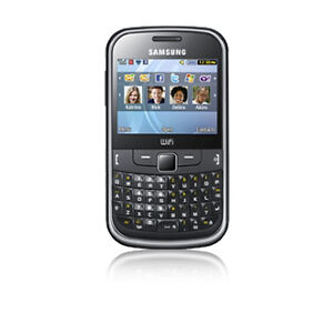 Samsung Chat 335 - Metallic black (Unloc...