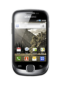 Samsung Galaxy Fit GT-S5670 - Metallic B...