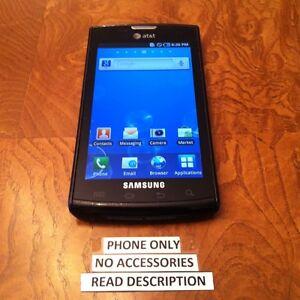 Samsung Galaxy S Captivate SGH-I897 - Black (AT&T) Smartphone