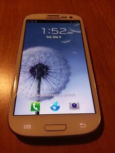 Samsung Galaxy S III SCH-R530M - 16GB - Marble White (Metro PCS) Smartphone