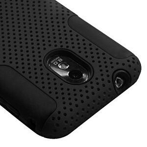 Samsung Galaxy S2 Epic 4G Touch D710 Sprint Hard Soft Rubber Case