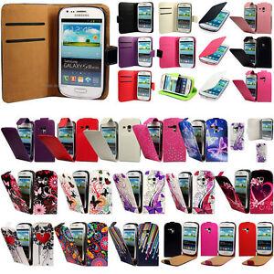 Samsung-Galaxy-S3-Mini-i8190-Tasche-Flip-Case-Cover-Schutz-Huelle-Etui-Schale