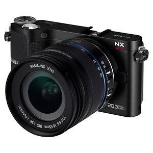 Samsung NX200 20.0 MP Digital Camera - B...