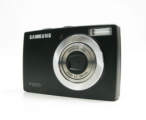 Samsung P1000 10.2 MP Digital Camera - B...