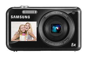 Samsung PL121 14.2 MP Digital Camera - B...